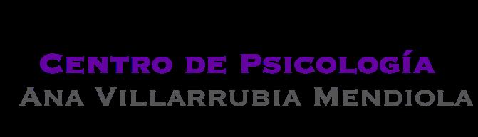 Ana Villarubia Mendiola - Centro de Psicología